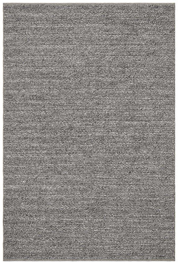 Mandurah Wool Rug Steel Grey - Simple Style Co