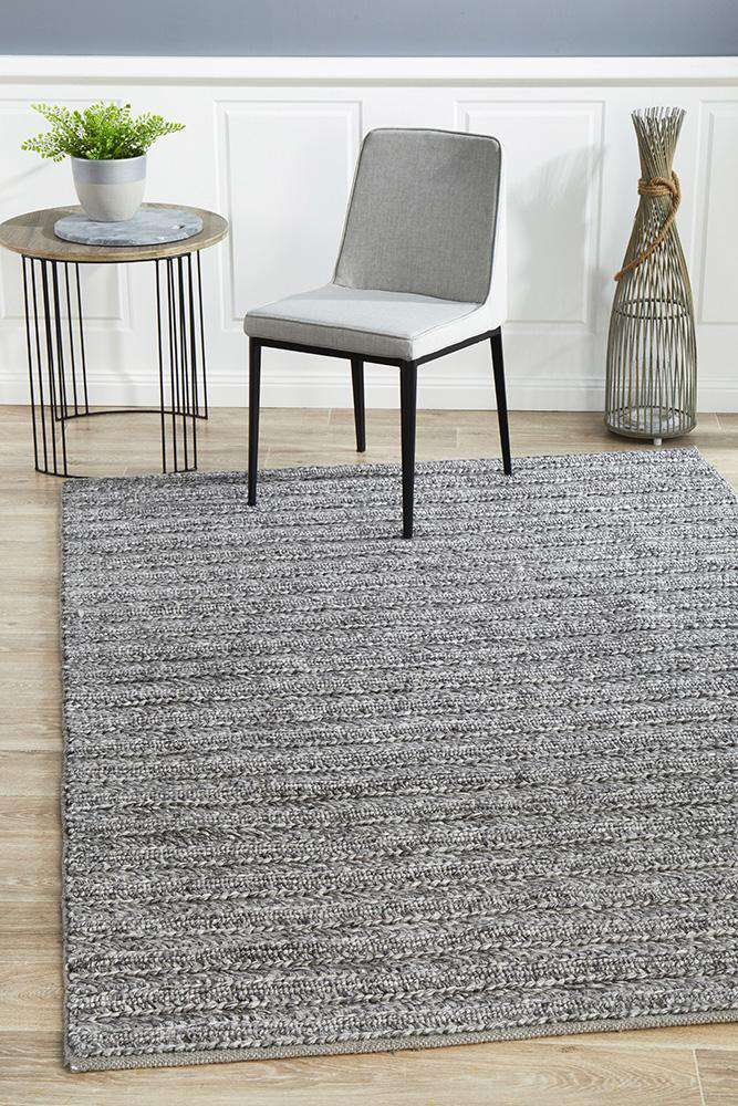 Mandurah Rug - Steel - Simple Style Co