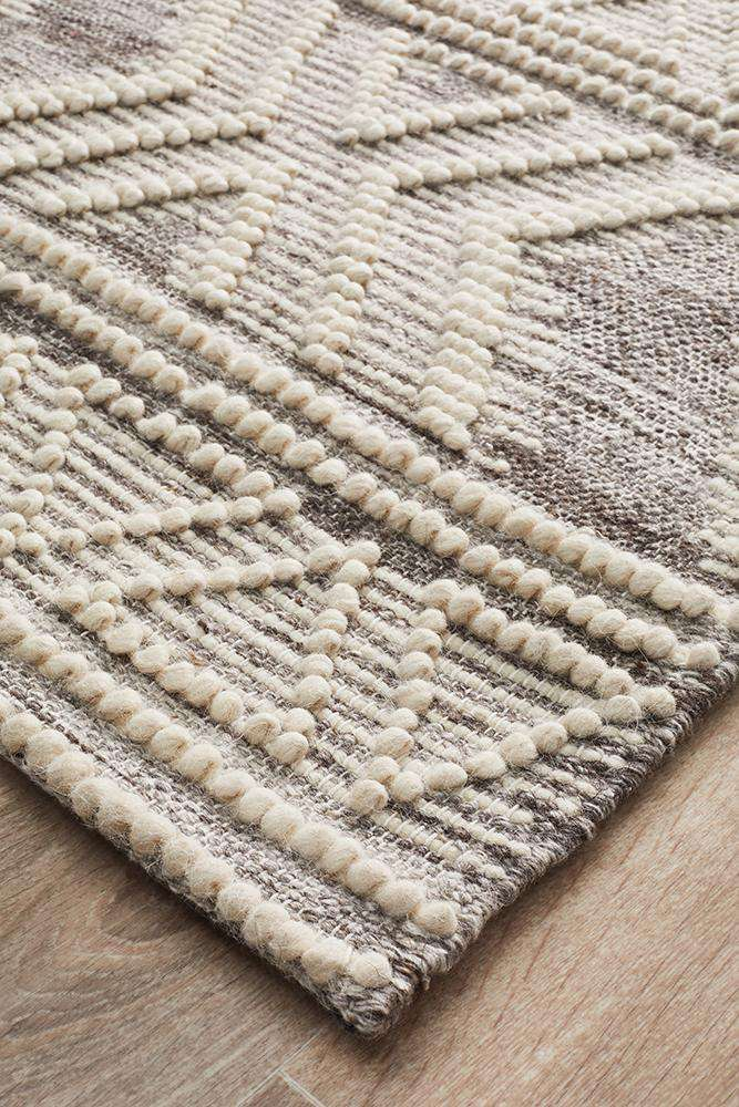 Esha Woven Tribal Rug Natural | Tribal Rugs | Modern Rugs | Simple Style Co