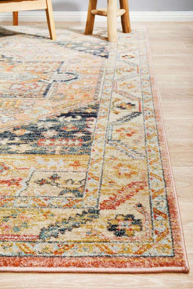 Aylin Multicoloured Transitional Rug - Simple Style Co