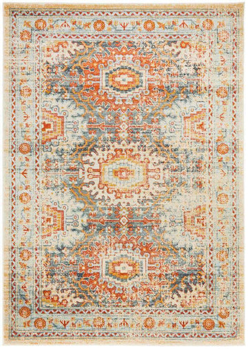 Faris Blue Tribal Rug - Simple Style Co