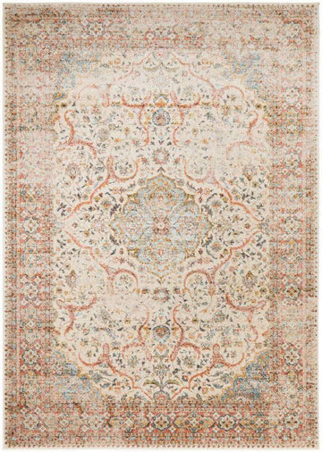 Zahra Distressed Floral Rug - Simple Style Co