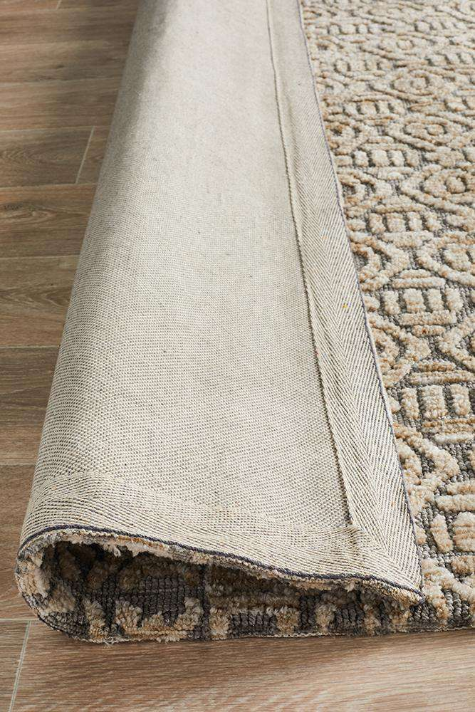 Odisha Tribal Rug - Natural Grey - Simple Style Co
