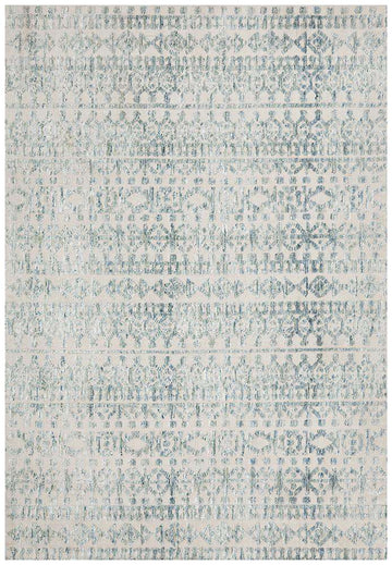 Simple Style Co: Orissa Tribal Rug Blue | Free Delivery Australia Wide