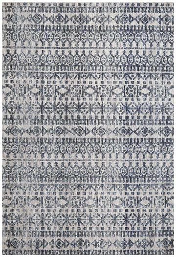 Simple Style Co: Orissa Tribal Rug Navy | Free Delivery Australia Wide