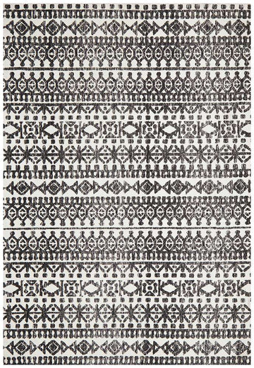 Simple Style Co: Orissa Tribal Rug Black | Shop Rugs Online | Buy Rugs