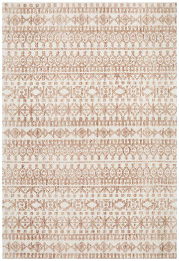 Orissa Tribal Rug - Peach - Simple Style Co