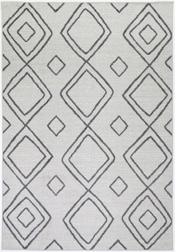 Marrakesh Indoor/Outdoor Grey Rug
