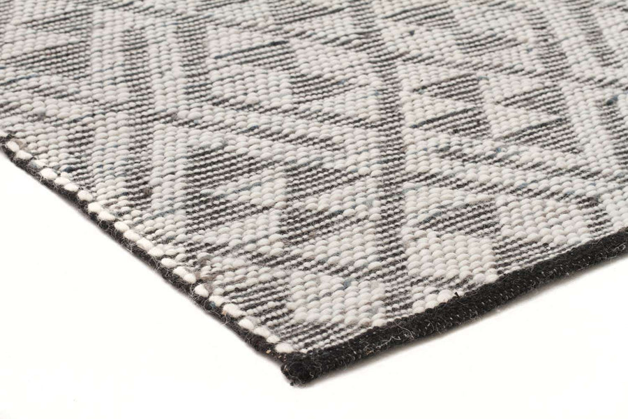 Tempo Wool Rug - Denim