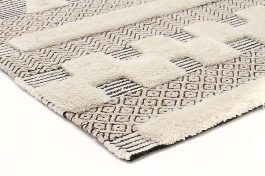 Marari Textured Tribal Rug - Simple Style Co