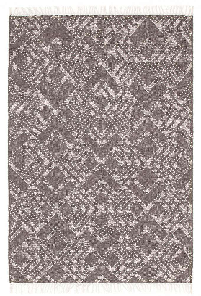 Denver Warm Grey Wool Rug - Simple Style Co