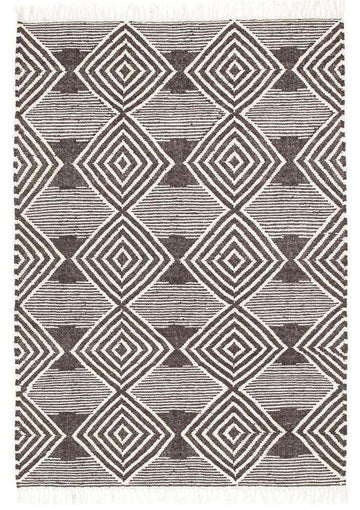 Simple Style Co: Bodrum Distressed Diamond Rug | Buy Rugs Online