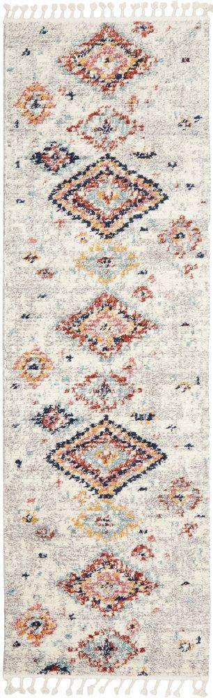 Azrou Tribal Diamond Runner Rug - Simple Style Co