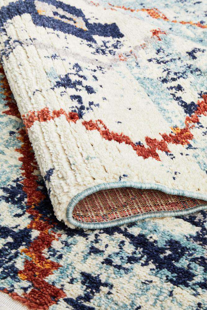 Marrakesh 444 Blue Rug - Simple Style Co