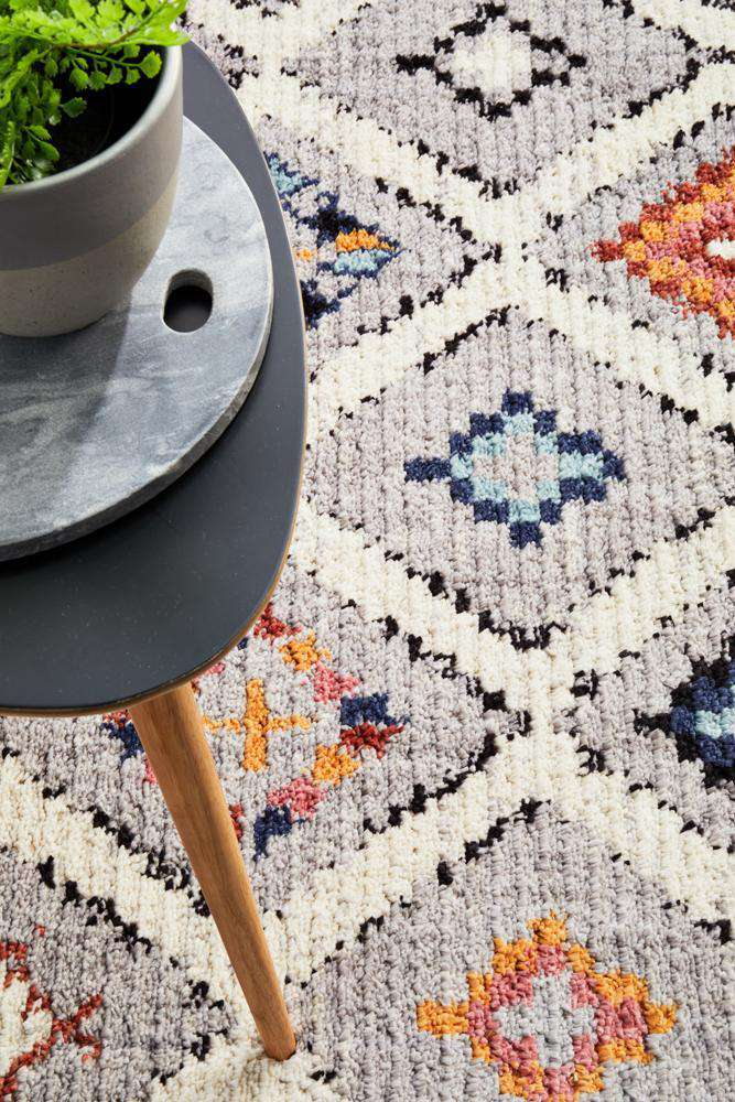 Marrakesh 555 Grey Rug - Simple Style Co