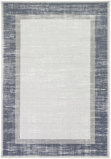 New York Indoor/Outdoor Blue Rug