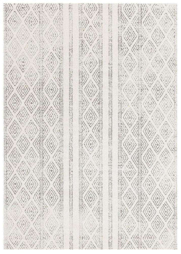 Salma Tribal Rug White/Grey - Simple Style Co