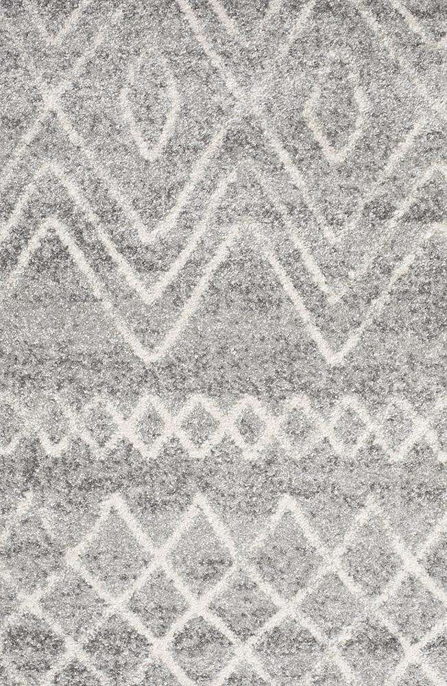 Nadia Grey Tribal Rug - Simple Style Co