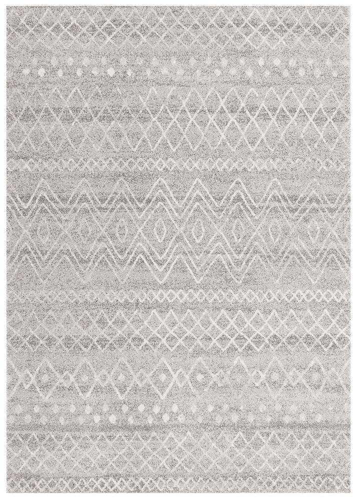 Nadia Grey Rustic Tribal Rug - Simple Style Co