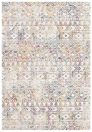 Ismail Multi Coloured Tribal Rug - Simple Style Co