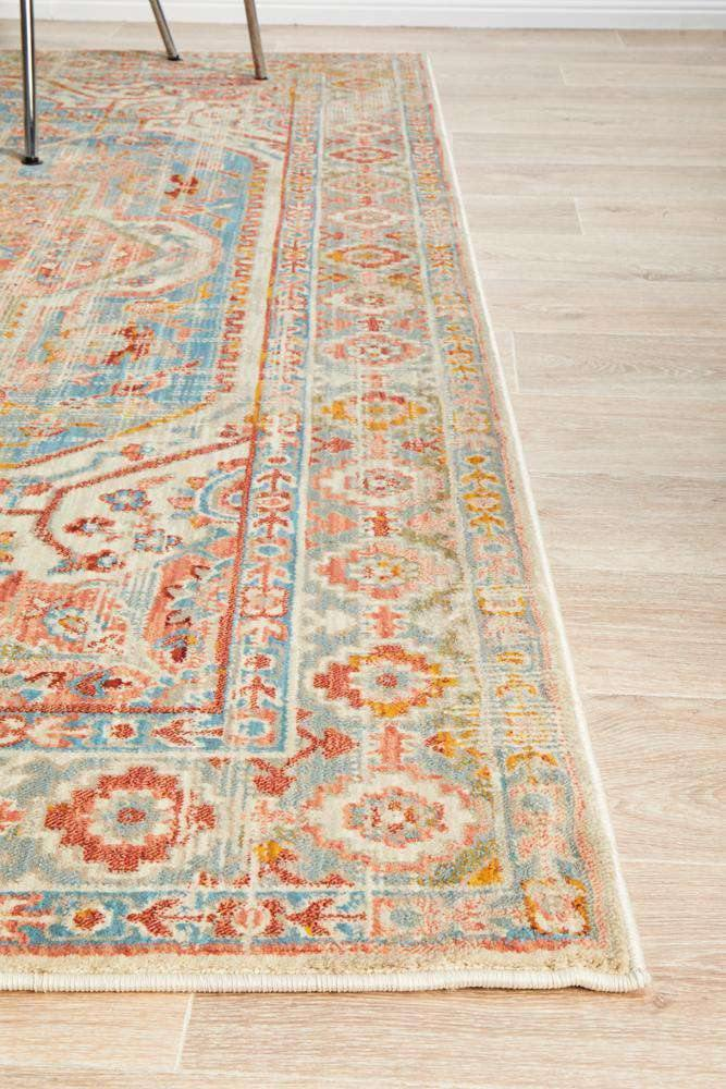 Nawa Blue Traditional Rug - Simple Style Co
