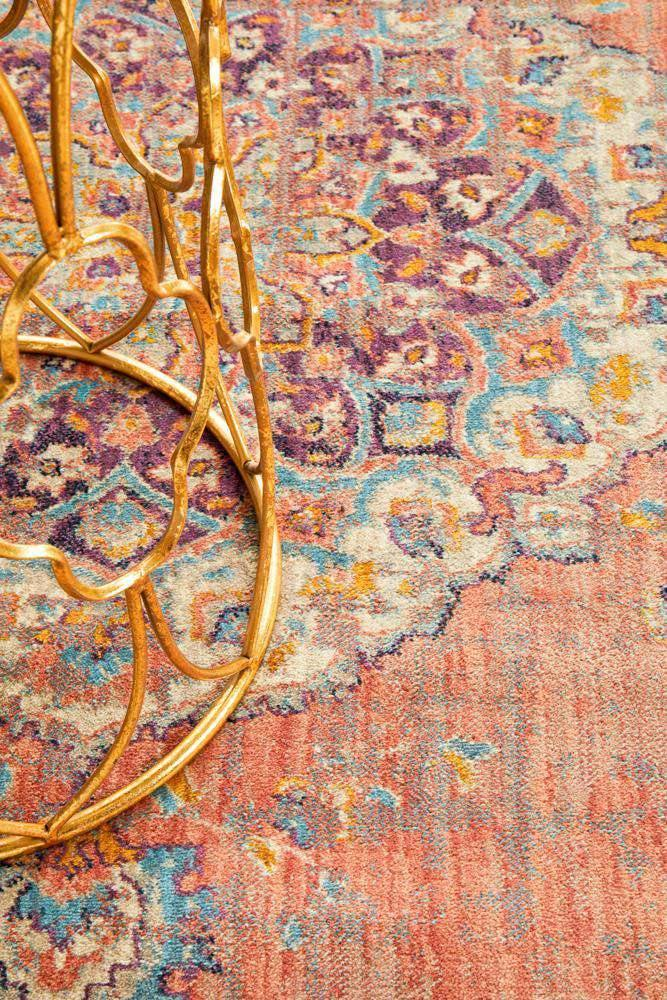 Edrica Terracotta Traditional Runner Rug - Simple Style Co
