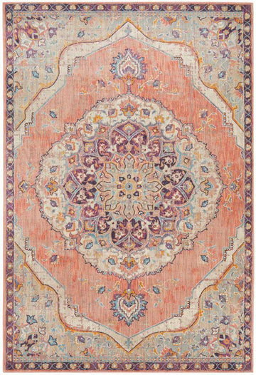 Edrica Terracotta Traditional Rug - Simple Style Co