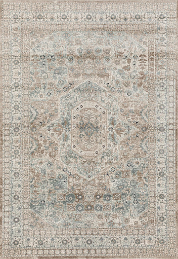 Norwich Traditional Rug - Beige - Simple Style Co
