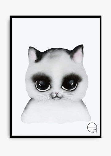 KREATIVITUM Cat Print - Simple Style Co