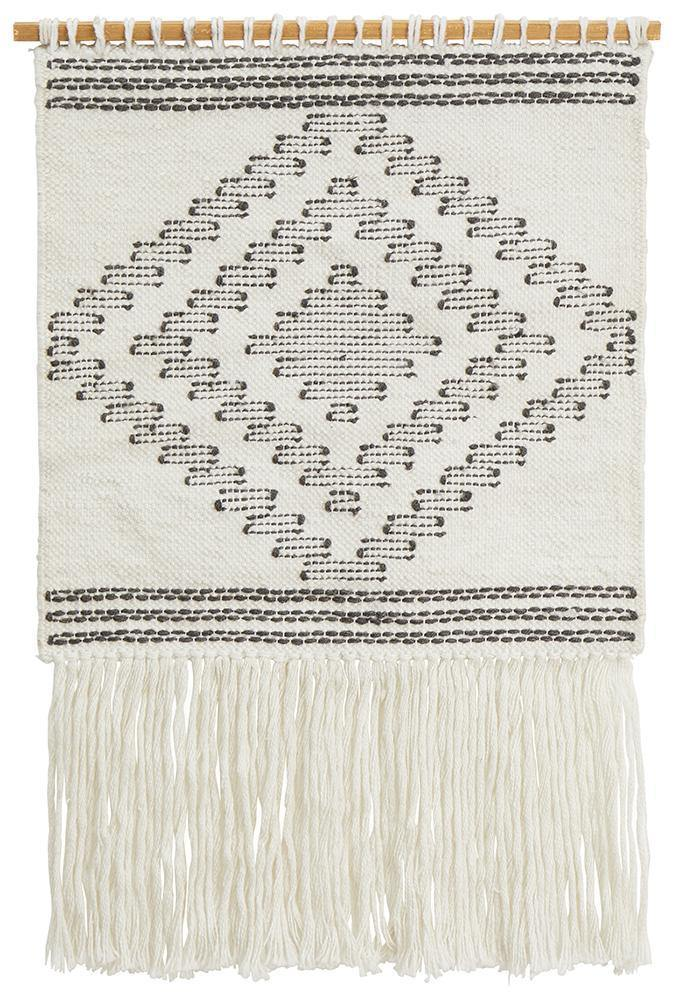 White Wall Hanging 426 - Simple Style Co