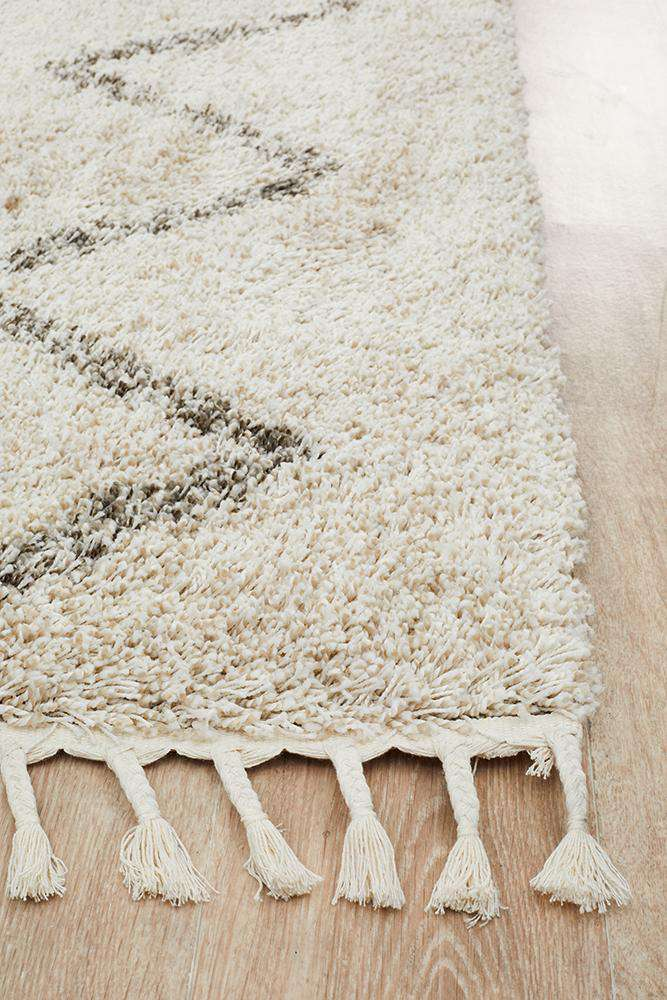 Fleur Natural Fringed Rug - Simple Style Co