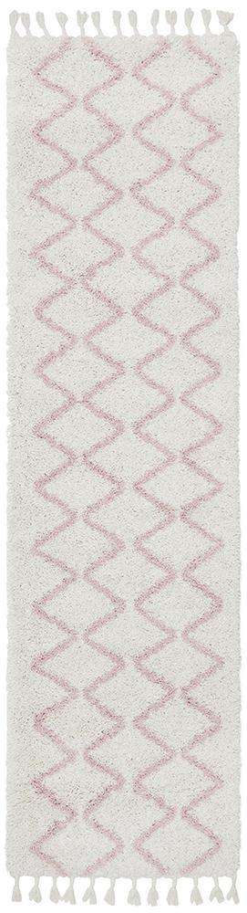 Simple Style Co: Kenza Runner Pink | Buy Rugs Online | Shop Rugs Online