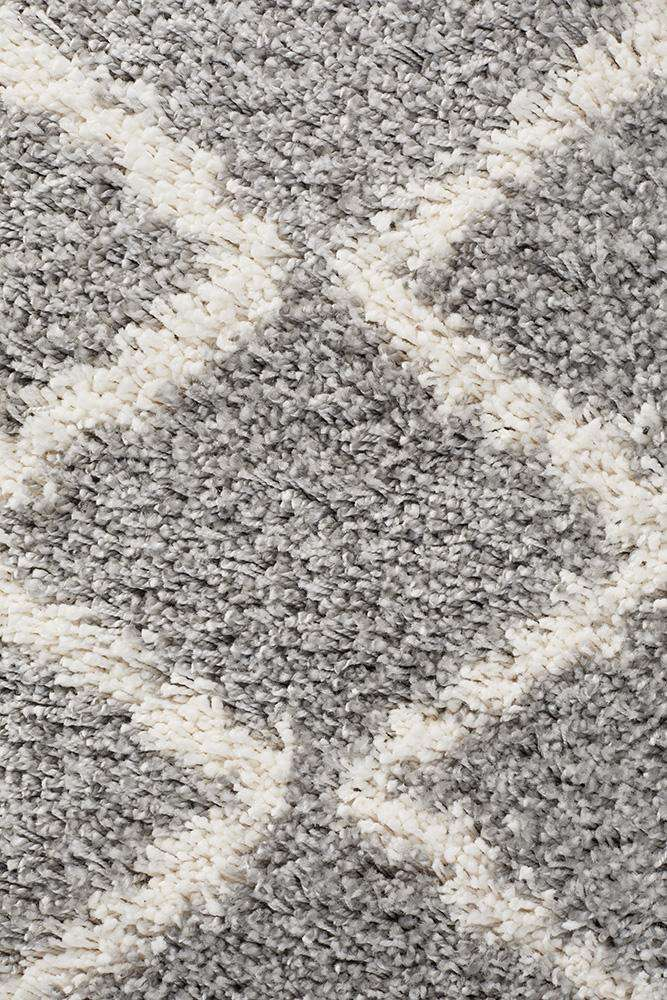 Saffron 11 Silver Runner Rug - Simple Style Co