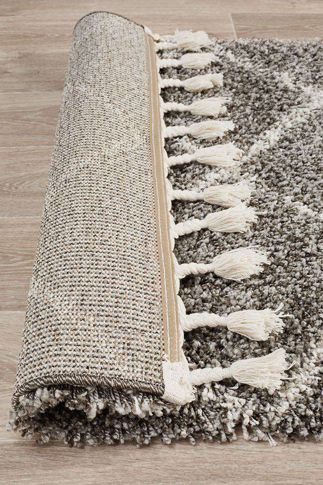 Saffron 22 Grey Runner Rug - Simple Style Co