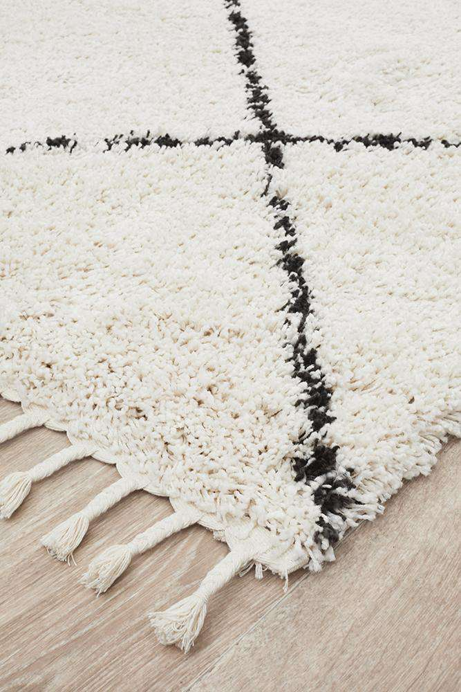 Kiyan Rug - White - Simple Style Co