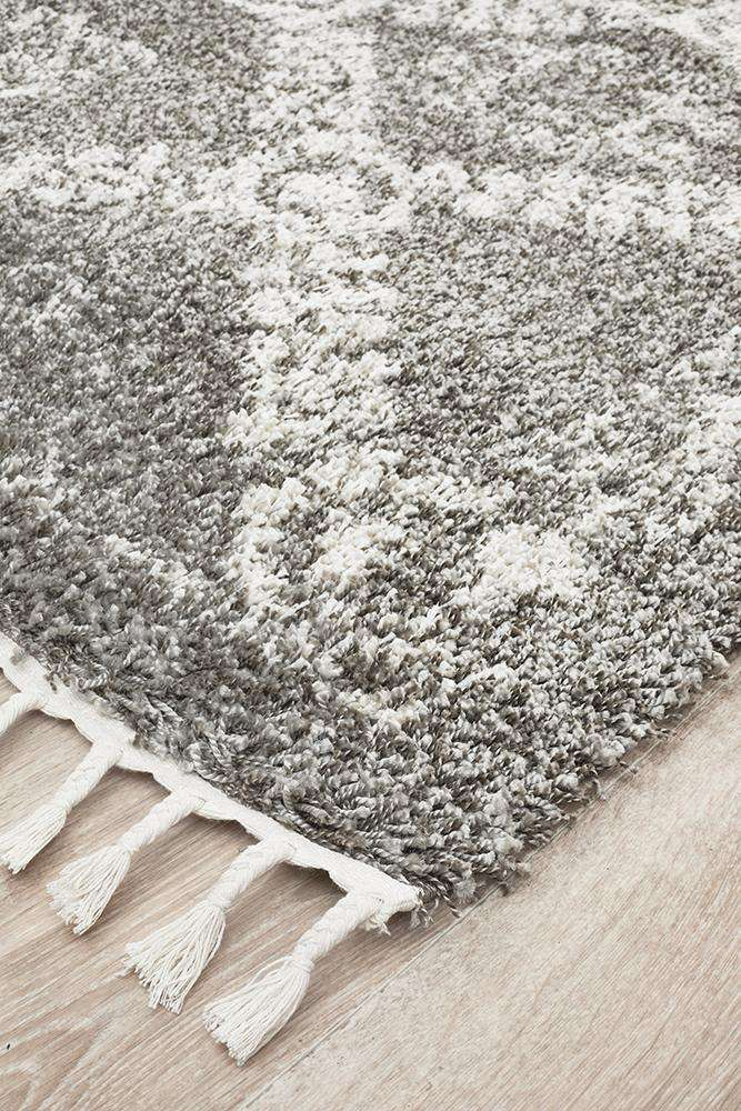 Saffron 33 Grey Rug - Simple Style Co