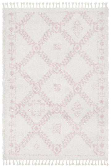 Saffron 33 Pink Rug - Simple Style Co