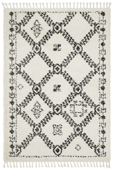 Saffron 33 White Rug - Simple Style Co