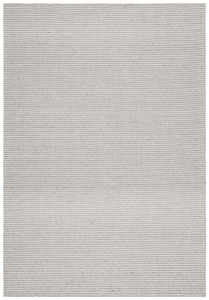 Arles Silver Grey Wool & Viscose Rug - Simple Style Co