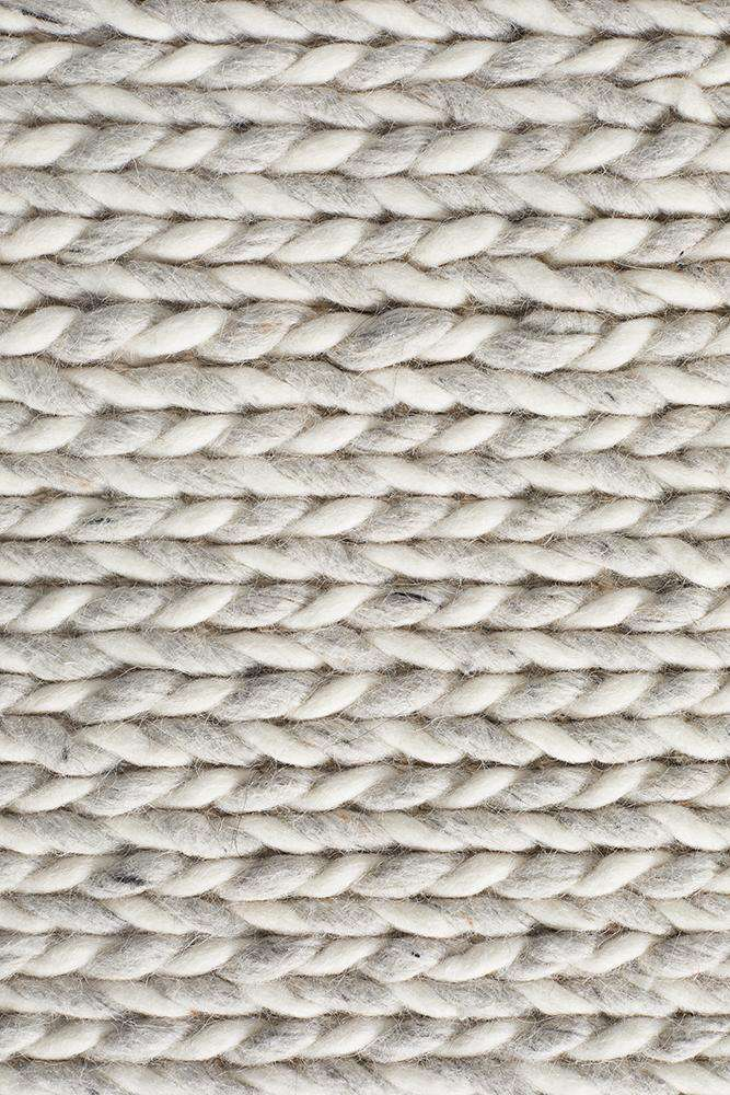 Kelowna Braided Wool & Viscose Rug