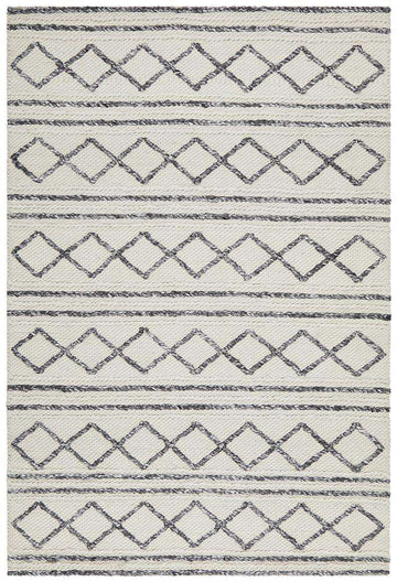 Simple Style Co: Milly Textured Tribal Wool Rug