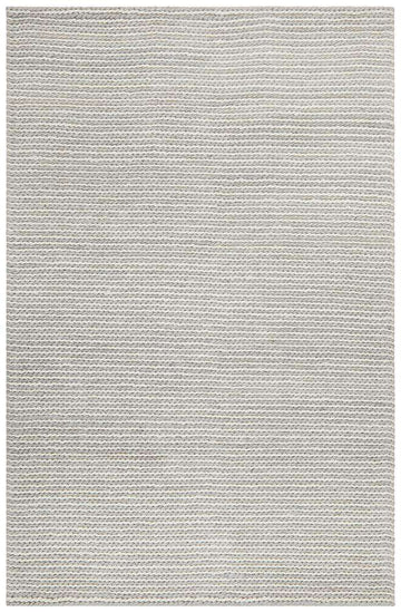 Carina Grey & Ivory Braided Wool Rug - Simple Style Co