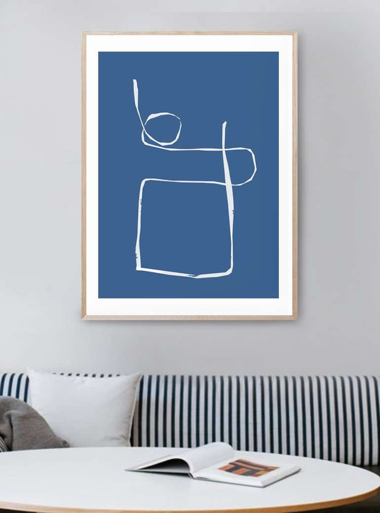 The Print Supply: String Along Art Print | Simple Style Co