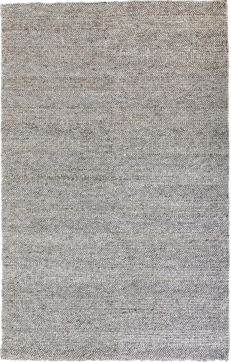 Catherine Silver Grey Hand Loomed Wool Rug - Simple Style Co