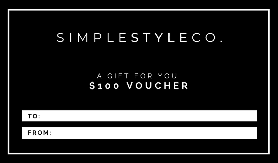 E-Gift Card/Voucher - Simple Style Co
