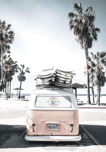 Cali Surf Van - Simple Style Co