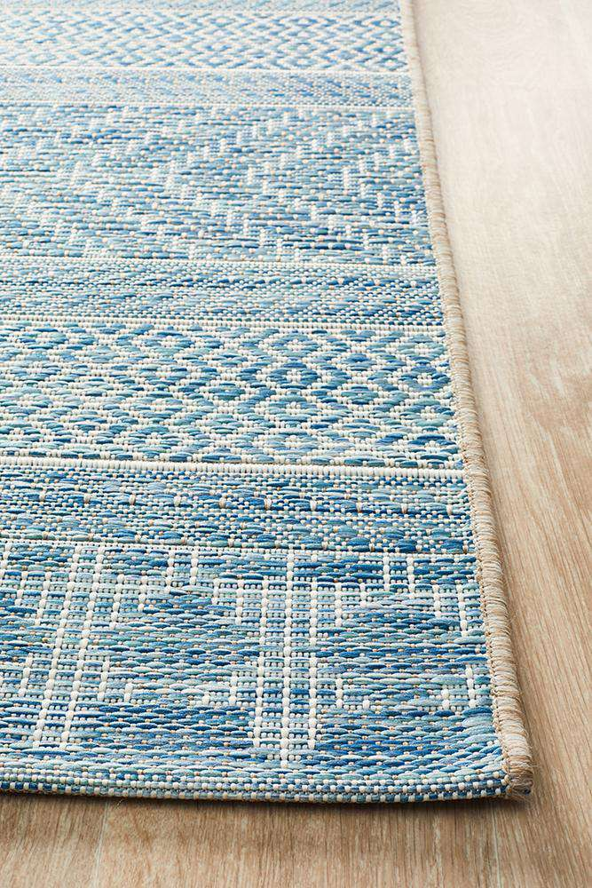 Pylos Outdoor Rug - Blue