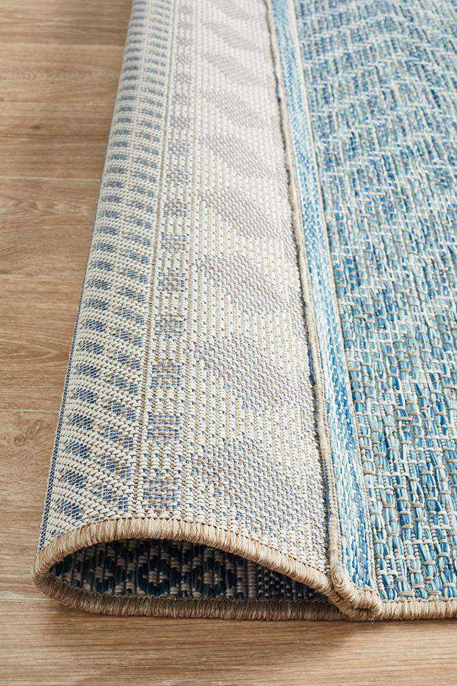 Pylos Outdoor Rug - Blue - Simple Style Co