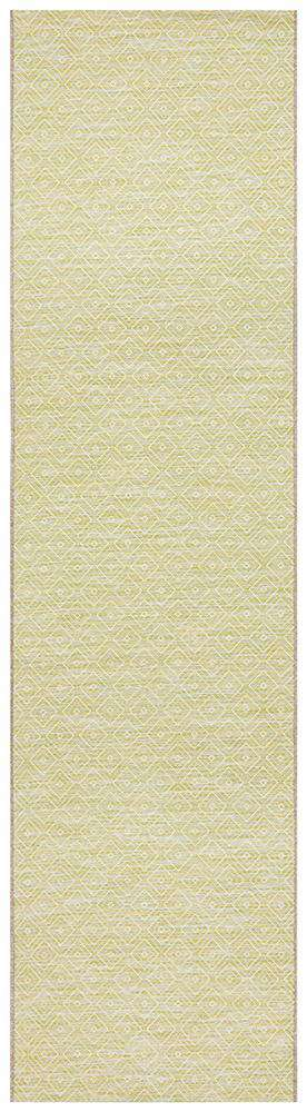 Nafplio Outdoor Runner Green | Outdoor Rugs | Modern Rugs | AfterPay Rugs
