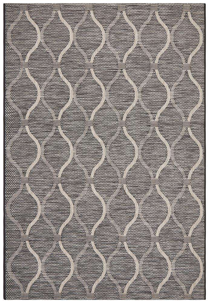 Kavala Outdoor Rug Black | Outdoor Rugs | AfterPay Rugs | Free Delivery
